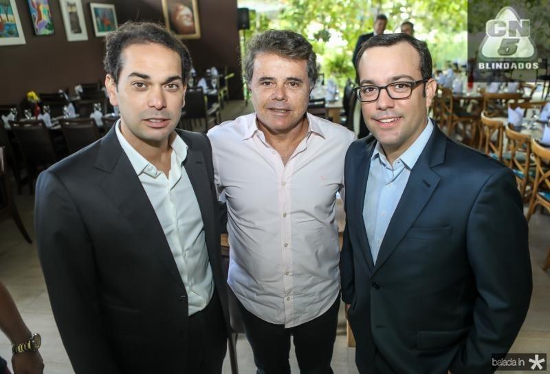 Claudio Vale, Bezerra e Ivo Machado