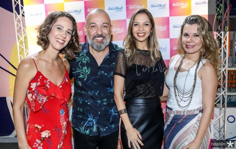 Micheline Olivindo, Alexandre Lima, Michele Magalhaes e Aline Menezes