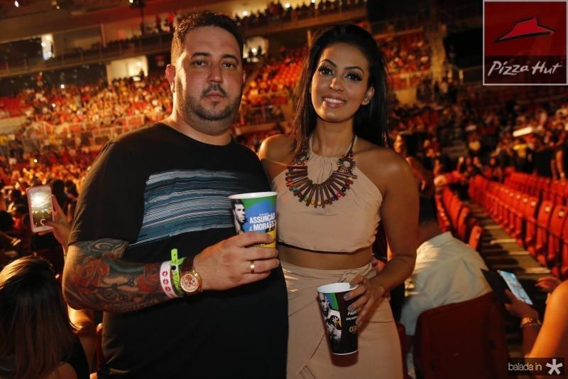 Bruno Henrique e Tamy Almeida