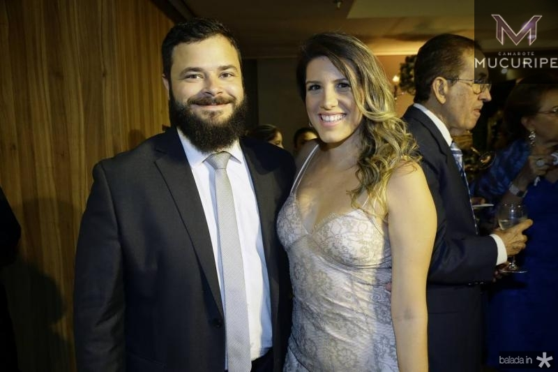 Felipe Romcy e Priscila Fontes