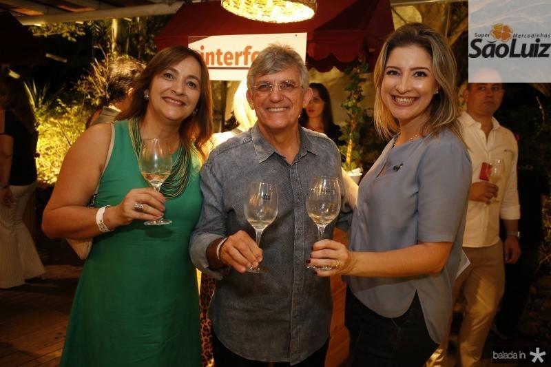 Ana Paula Cartaxo, Almeida Junior e Leiliane Pinheiro