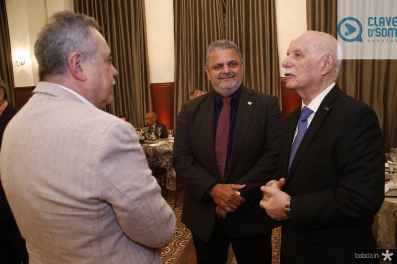Assis Cavalcante, Jorge Bagdeve e Freitas Cordeiro