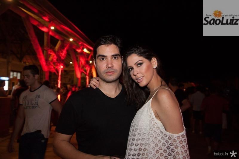 Felipe Gentil e Mirele Vasconcelos