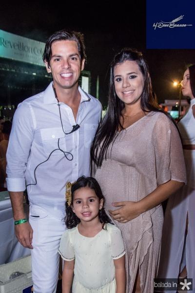 Italo Girao, Maria Clara Girao e Ana Marcia Campos