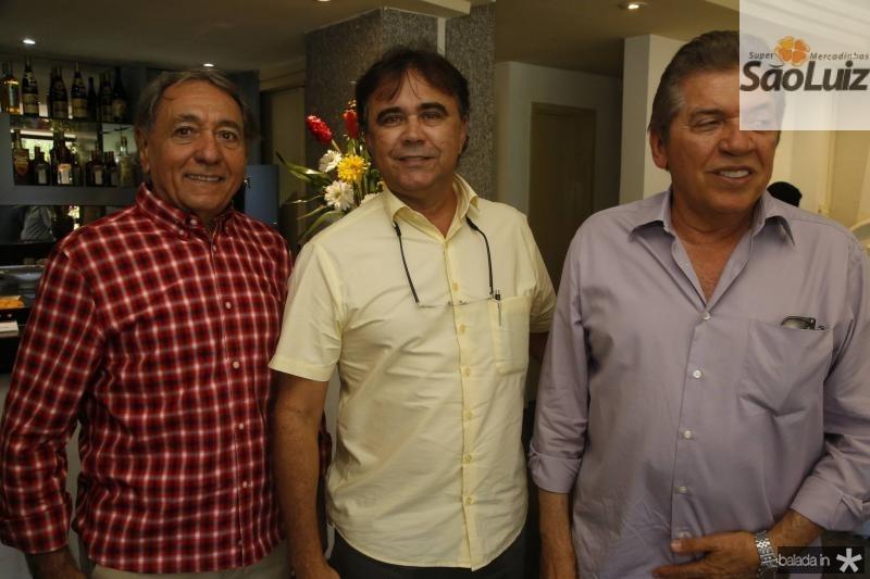 Rogerio Aguiar, Gilberto Costa e Wellington Holanda