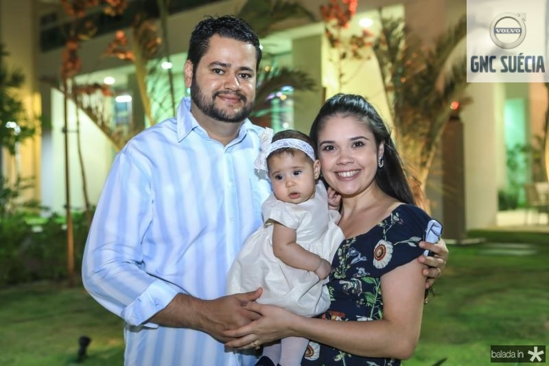 Daniel, Cecilia e Jessica Correia