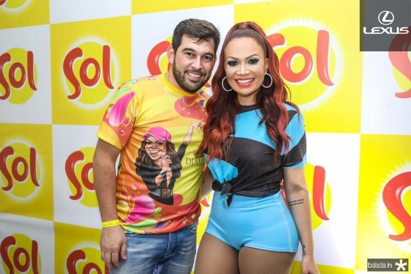 Leandro Andriane e Solange Almeida