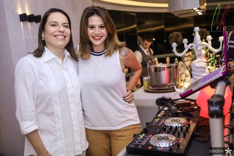 Denise Bezerra e Isadora Capelo
