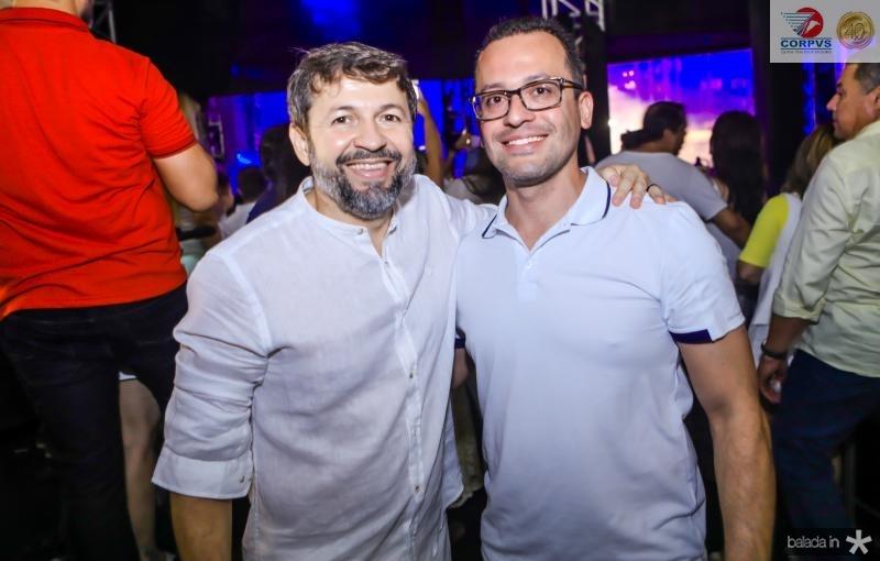 Elcio Batista e Andre Costa