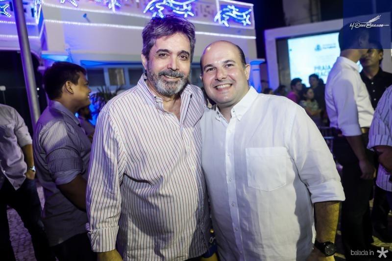 Totonho Laprovitera e Roberto Claudio