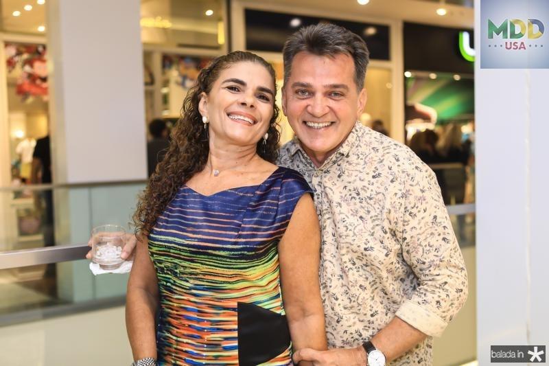 Madalena Feijao e Watson Viana
