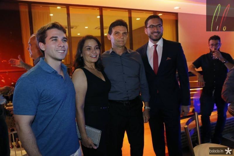 Daniel Eloy, Margarida Alves, Max Bezerra e Bernardo Santana