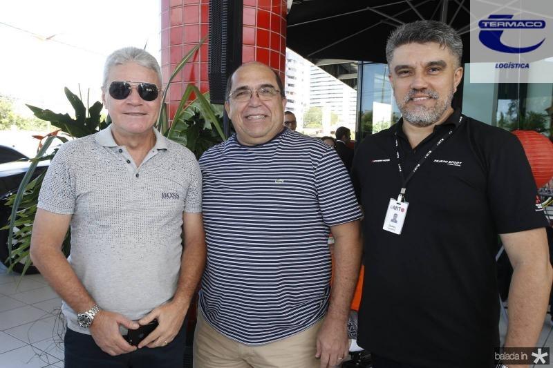 Edson Arouxe, Marcos Melo e Daniel Dantas