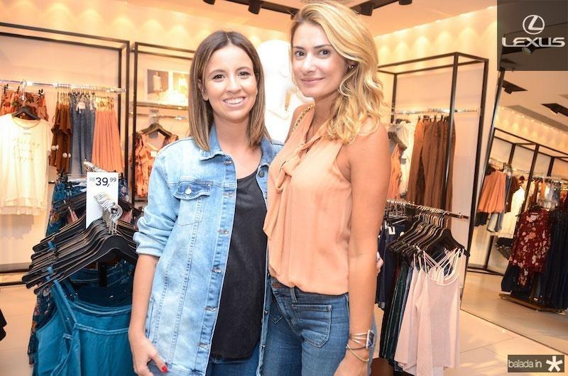 Andrea Vieira e Priscila Borgonovi