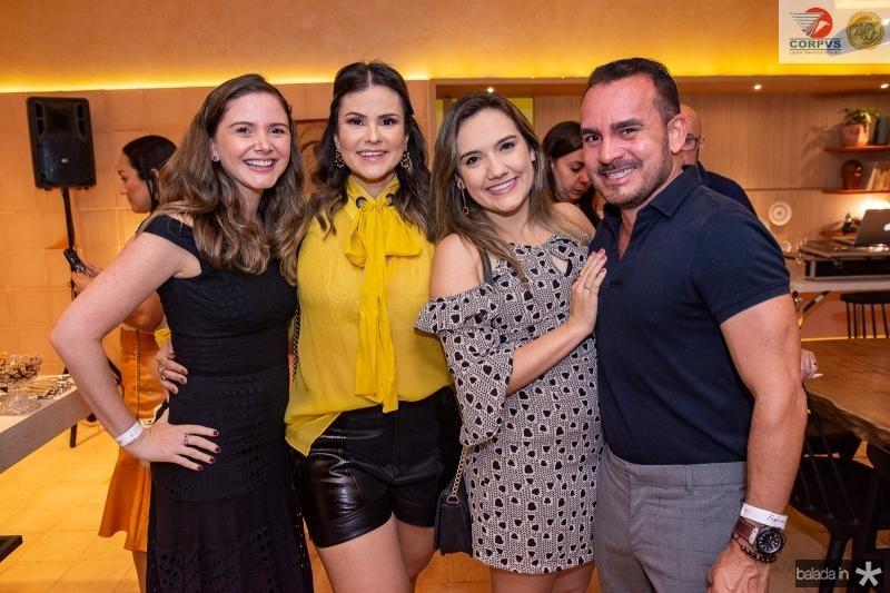 Vanessa Camara, Carine Moreira, Gabriela Portugal e Wilfredy Mendonca