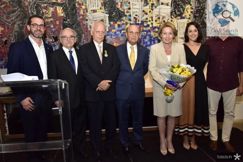 José Maria Zanocchi, Ednilton Soarez, Dieter Gerdin, Joao Soares, Ingrid Gerding, Carolina Zanocchi e Marcos de Castro