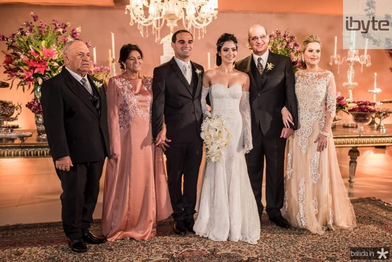 Jose de Moura Dias, Francisca Braga Dias, Caio Cesar Braga, Carolina Ary, Walder Ary e Cristiane Ary