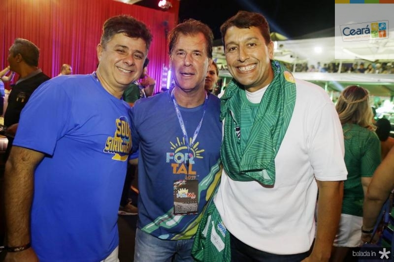 Alexandre Frota, Arthur Magalhaes e Gony Arruda