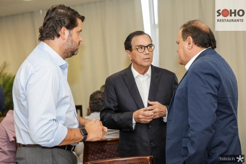 Rafael Rodrigues, Beto Studart e Roberto Moreira