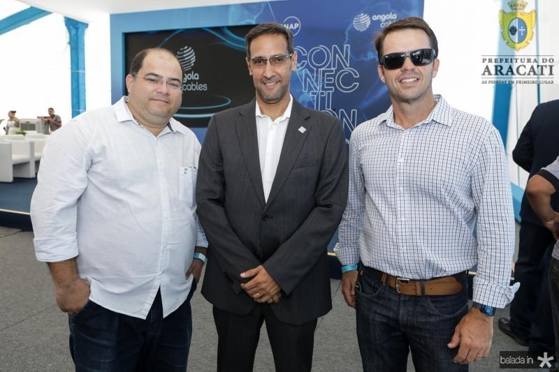 Samuel Diogo, Antonio Nunes e Joao Guilherme