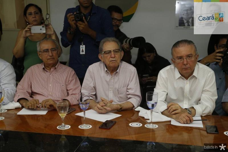 Joao Bosco Macedo, Joao Araujo e Antonio Jose Mello