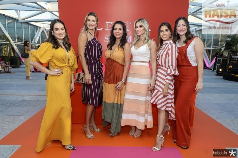 Marcela Medina, Suzana Fiuza, Maria Lucia Negrao, Patricia Jereissati, Tayra Romcy e Marcela Teixeira