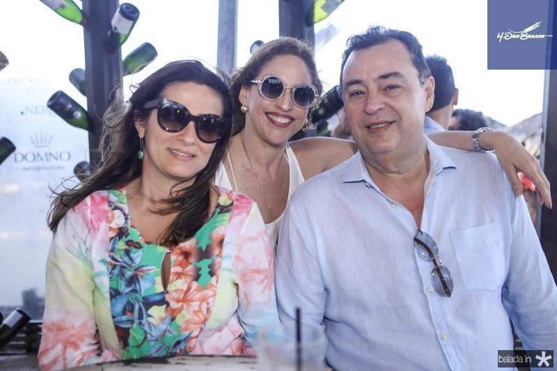 Adriana Lens, Ana Claudia e Aristoteles Canamary