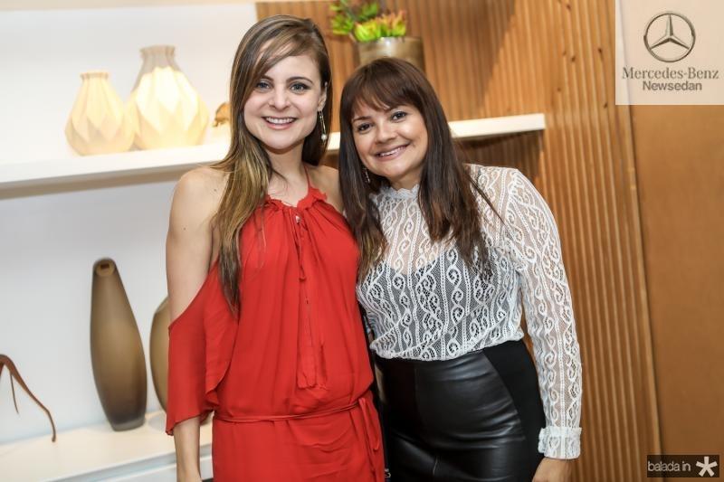 Ana Virginia Furlani e Kel Oliveira