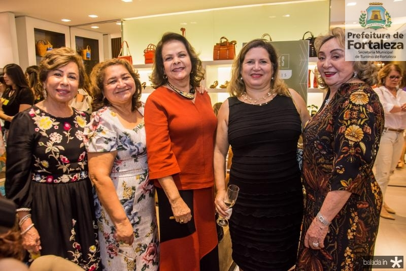 Tane Albuquerque, Maria Vital, Nadja Frota, Marciane Martins e Vilma Patricio