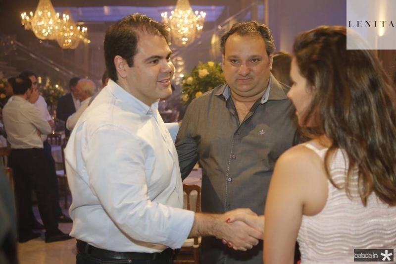 Marco Aurelio, Patriolino e Renata Dias