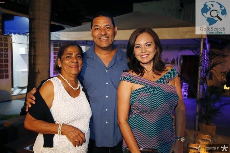 Jandira Coelho, Adroaldo Cunha e Indione Pereira