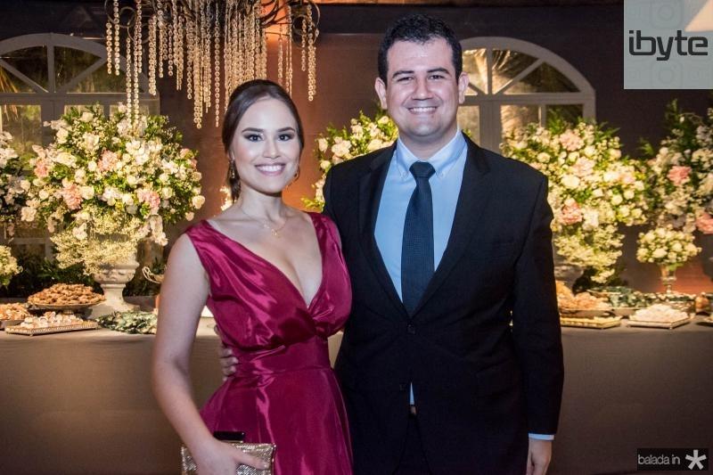 Juliana Ibiapino e Matheus Leitão
