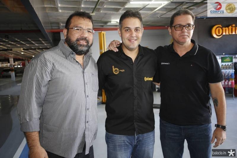 Geraldo Sa, Bruno Bastos e Luiz Carlos Caldas