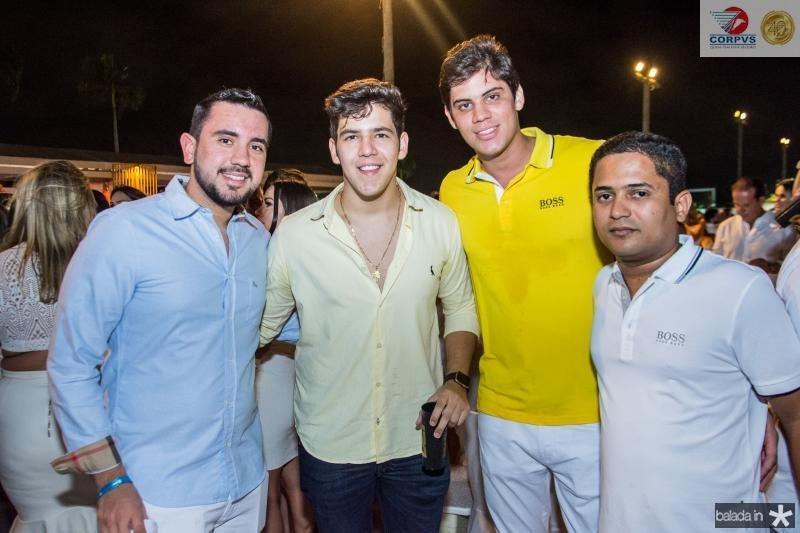 Vitor Coelho, Joao Pedro Borges, Jose Lamar e Carlos Eduardo