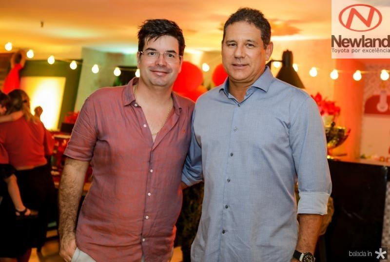 Andre Pires e Marcus Medeiros