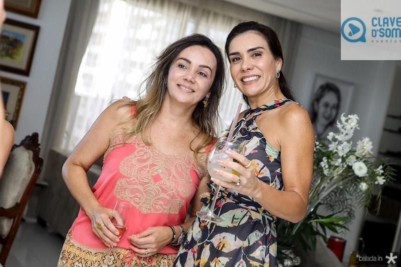 Alessandra Albuquerque e Ane Alcântara