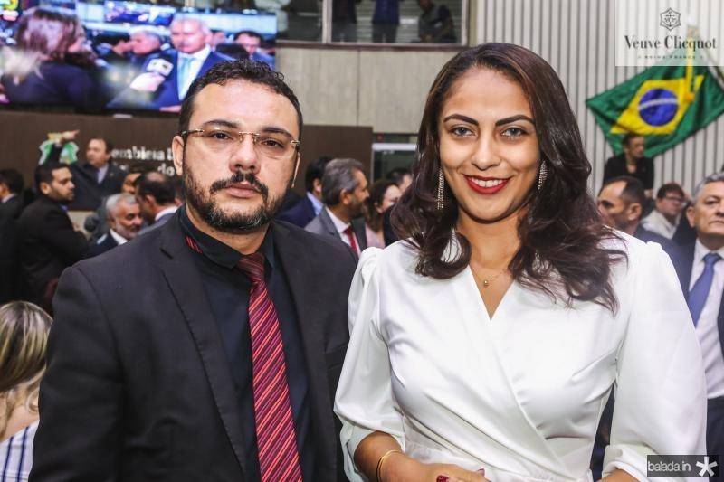 Daniel Pessoa e Clara Nunes