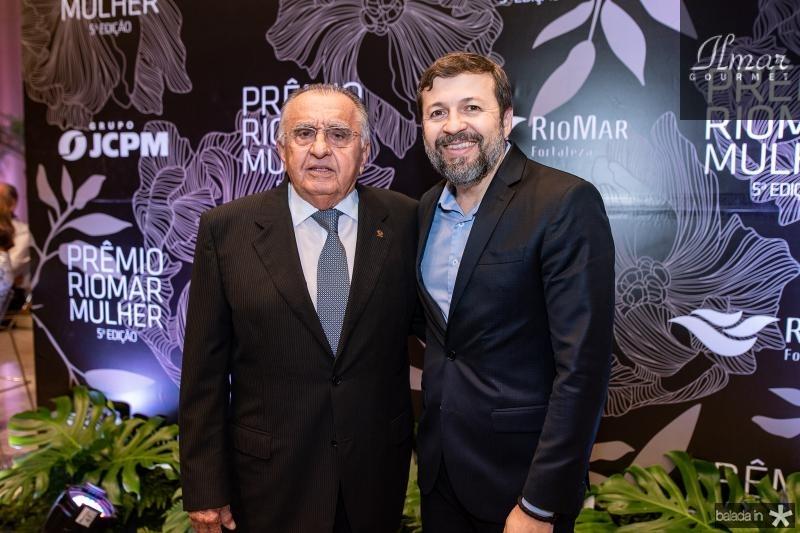 Joao Carlos Paes Mendonca e Elcio Batista