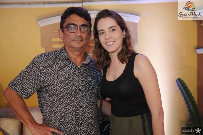 Luiz Carlos Carvalho e Mariana Fontenele