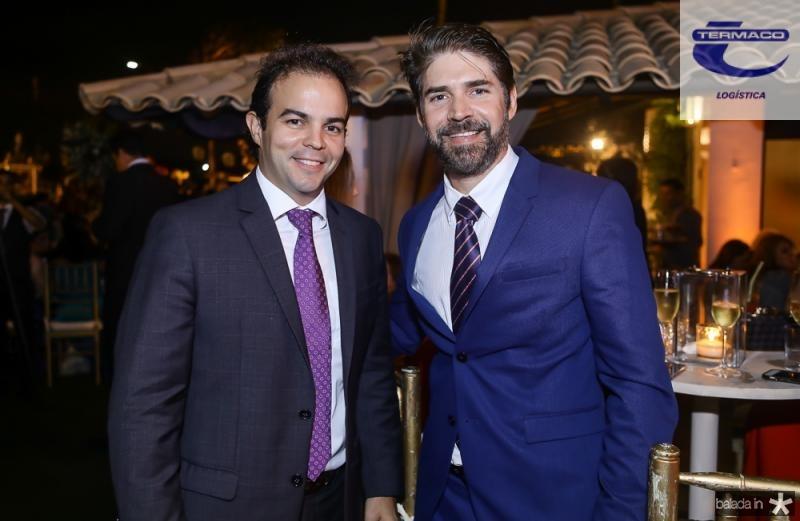 Drausio Barros Leal e Leonardo Brasil