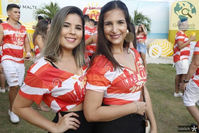 Amanda Cavalcante e Bianca Ferraz