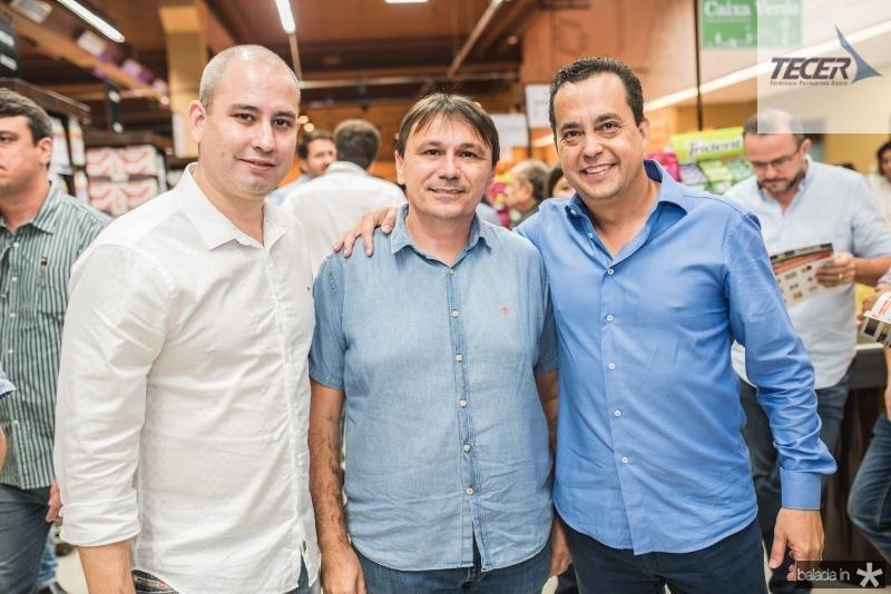 Andre Linheiro, Jocelio Parente e Luiz Ferreira