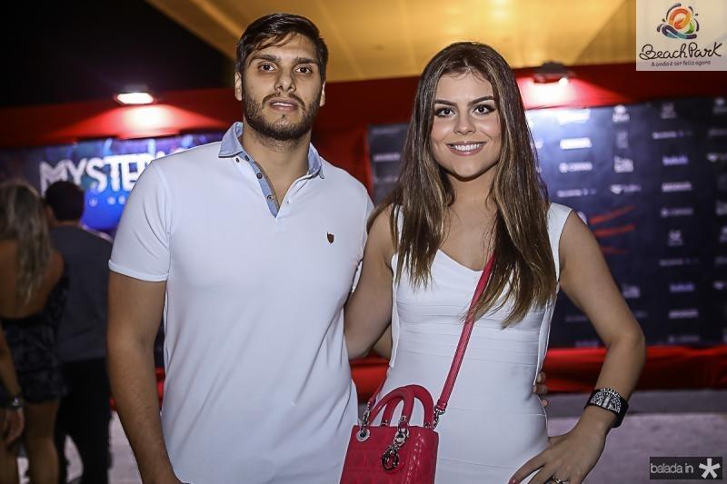 Romulo Leite e Camila Nogueira