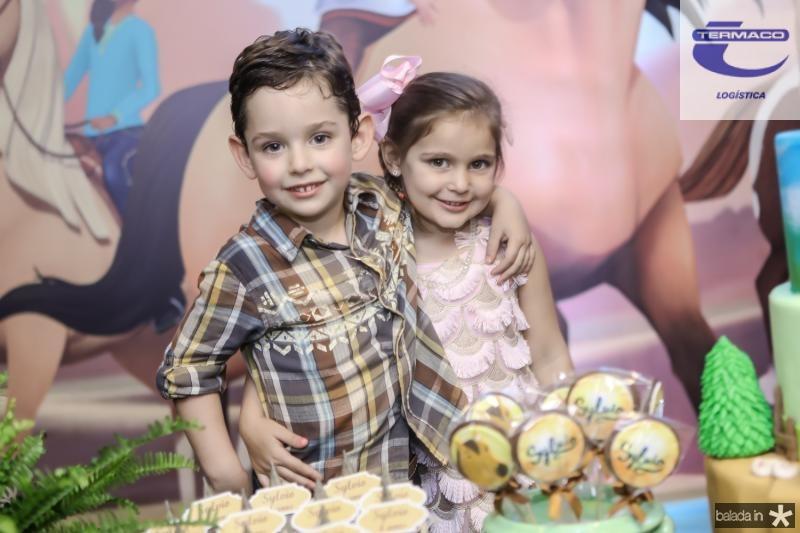Sylvio e Athina Leal