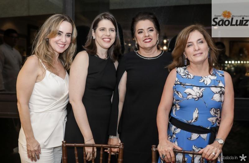 Regina Camara, Marcia Barroso, Silvana Bezerra e Regina Garcia