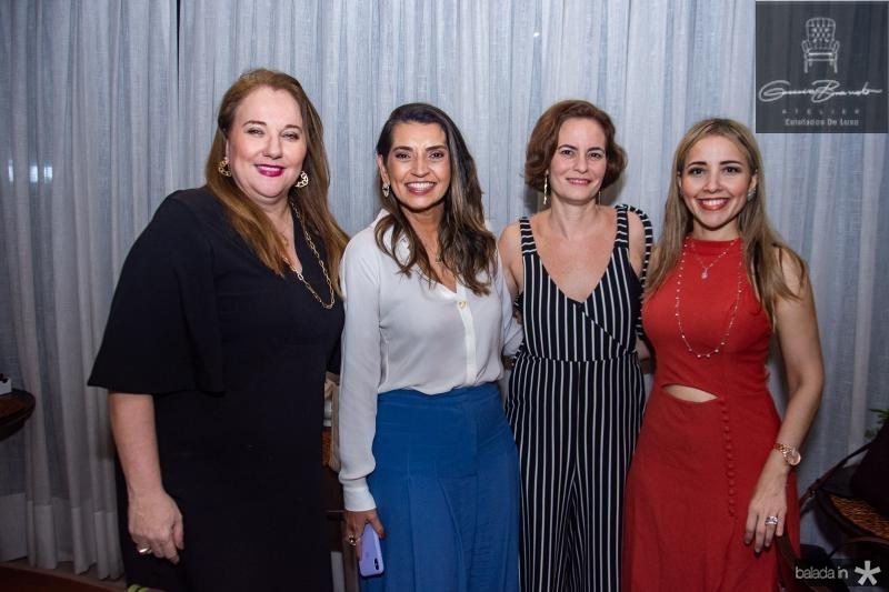 Luiziane Cavalcante, Marcia Travessoni, Jussara Regas e Emanuele Macedo