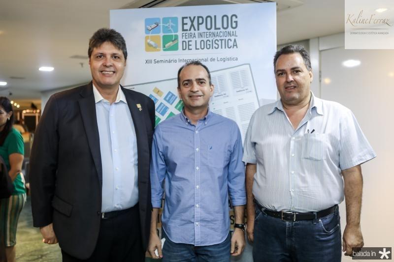 Marcos Oliveira, Lindenberg Gomes e Carlos Oliveira