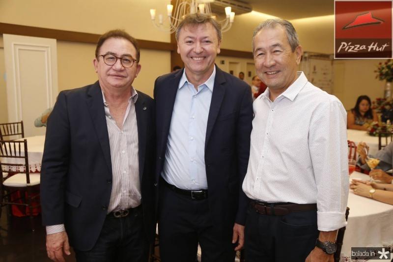 Mauricio Filizola, Manuel Linhares e Coronel Romero 2