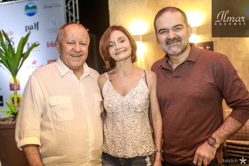 Crica Bezerra de Menezes, Luise Benevides e Bosco Couto