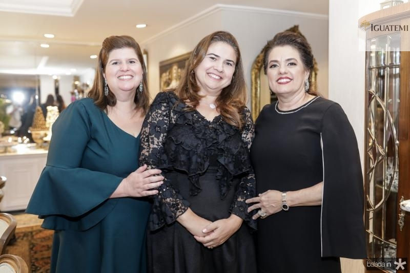 Patricia Silva, Maisa Santos e Silvana Bezerra